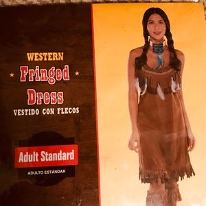 Women's Fringed Western - Indian Costume